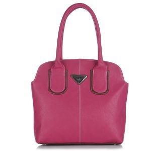 Buy Fostelo Pebble Medium Pink Handbag online