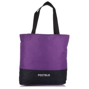 Buy Fostelo Casual Large Purple Handbag online