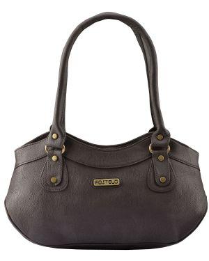 Buy Fostelo Women's Paige Shoulder Bag Brown (fsb-691) online