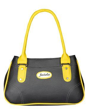 Buy Fostelo Women's Angelia Shoulder Bag Black (fsb-819) online