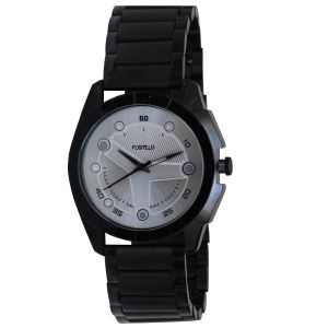 Buy Fostelo Silver Men'S Wrist Watch online