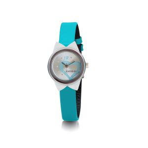 Buy Fostelo Silver Women'S Wrist Watch online