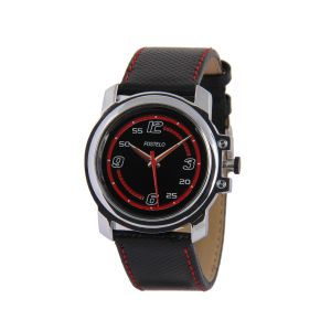 Buy Fostelo Black Mens Wrist Watches online