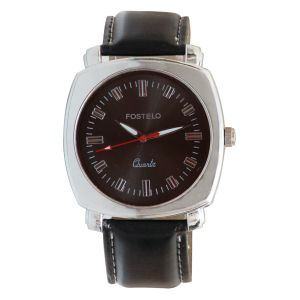 Buy Fostelo Black Mens Wrist Watch online
