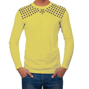 Buy Aalryt Yellow  Cotton Full Sleevet Shirt online