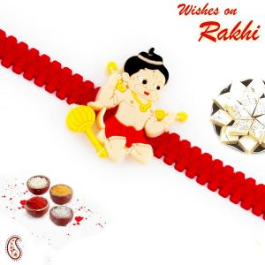 Buy Rakhi For Abroad_aapno Rajasthan Cute Motif Kids Rakhi - Int_rk17890 online