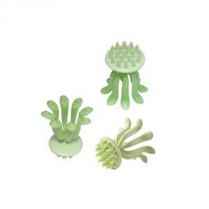 Buy Kawachi Mini Cute Octopus Head Massager For Hair Grow-green online
