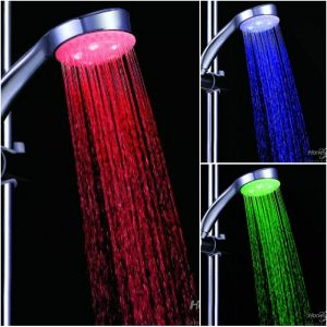 Buy 3 Color Changing LED Shower Head Automatic Abs Plastic Colors Changing online