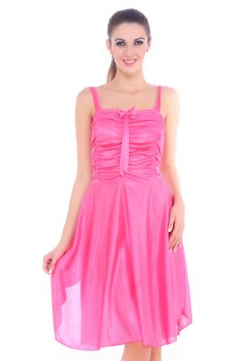 Buy Fasense Women Satin Slip Nightwear Sleepwear Short Nighty Dp057 C online