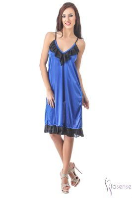 Buy Fasense Women Stylish Satin Nightwear Sleepwear Short Nighty online