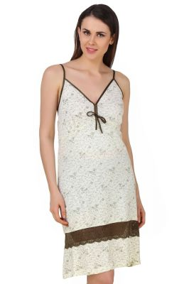 Buy Fasense Exclusive Women Shinker Cotton Nightwear Sleepwear Short Nighty online
