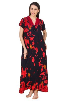 Buy Fasense Women Cotton Nightwear Sleepwear Long Nighty online