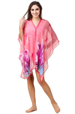 Buy Fasense Floral Printed Multi Beachwear Cover Up Mm005 A online