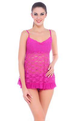 fce8d370ff Buy Fasense Women Nightwear Sleepwear Babydoll Top   Shorts Dp060 A online