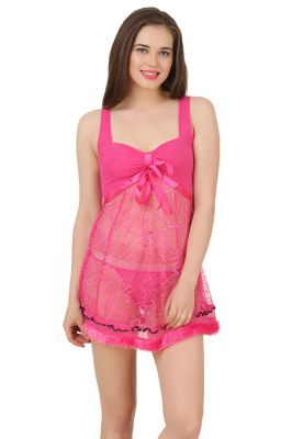 Buy Fasense Exclusive Women Nightwear Sexy Baby Doll Slip Ss079 C online