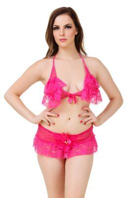 d84e404215 Buy Fasense Women s Net   Lace Sexy Bra