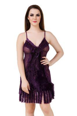 Buy Fasense Women's Net Sexy Babydoll Slip We016 A online