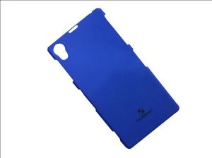 Check N Mate Back Cover For Sony Xperia Z - Dark Blue