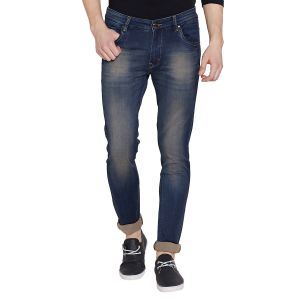Buy Stylox Men's Stylish Premium Stretchable Slim Fit Mid Rise Light Shaded Brown Jeans (code- Dnm-br-4086-02) online