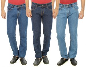 Buy Stylox Mens Set Of 3 Regukar Fit Denim online