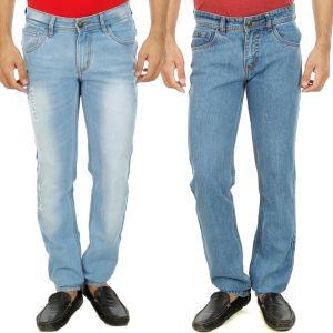 Buy Stylox Mens Set Of 2 Regular Fit Denim - ( Product Code - Dn-6001-7-2dnm ) online