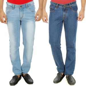 Buy Stylox Mens Set Of 2 Regular Fit Denim - ( Product Code - Dn-6001-9-2dnm ) online