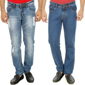 Buy Stylox Mens Set Of 2 Regular Fit Denim - ( Product Code - Dn-6004-9-2dnm ) online