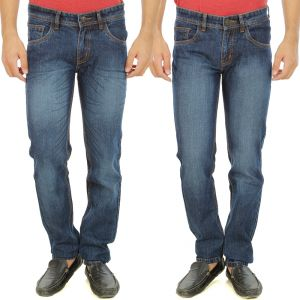Buy Stylox Mens Set Of 2 Regular Fit Denim - ( Product Code - Dn-6005-6-2dnm ) online