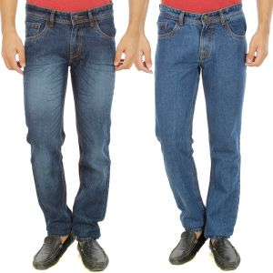 Buy Stylox Mens Set Of 2 Regular Fit Denim - ( Product Code - Dn-6005-9-2dnm ) online