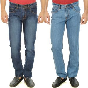 Buy Stylox Mens Set Of 2 Regular Fit Denim - ( Product Code - Dn-6006-7-2dnm ) online