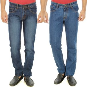 Buy Stylox Mens Set Of 2 Regular Fit Denim - ( Product Code - Dn-6006-9-2dnm ) online