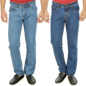 Buy Stylox Mens Set Of 2 Regular Fit Denim - ( Product Code - Dn-6007-9-2dnm ) online