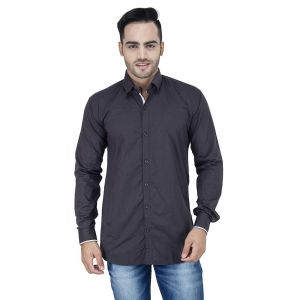 Buy Stylox Gray Casual Shirt For Men [002] online