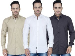 Buy Stylox Set Of 3 Casual Shirt For Men [001.2.4] online
