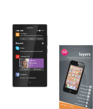 Buy Layers Nokia Xl Matte Screen Guard online