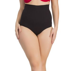 Buy Clovia Tummy Tucker Brief In Black With Seamless Finish online