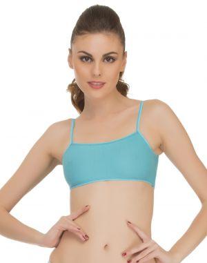 Buy Clovia Cropped Teenage Cami In Blue Bb0001p03 online