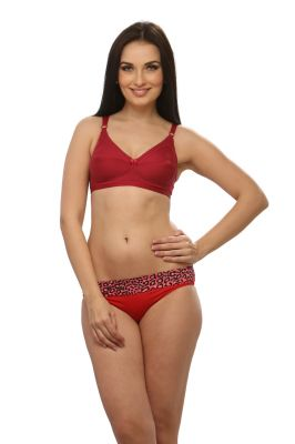 Buy Clovia Non Padded Non Wired Bra In Maroon Code - (br0227p09) online
