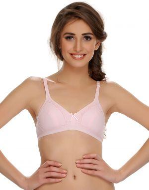 Buy Clovia Cotton Blend Cotton Blended Comfy Teenage Bra (product Code - Br0369p22 ) online