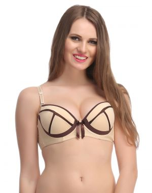 Buy Clovia Skin Balconette Push Up Bra With Detachable Straps online