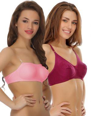 Buy Clovia Pack Of 2 Bra-(product Code- Combobr44) online