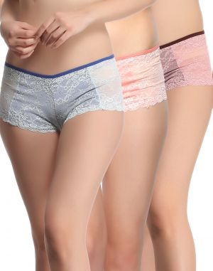 Buy Clovia Pack Of 3 Panty-(product Code- Combopn48) online