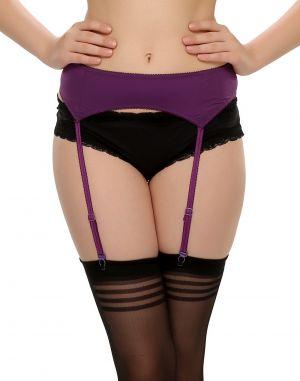 Buy Clovia Sexy Garter In Wine Gr0006p15 online