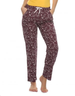 Buy Clovia Cotton Pyjama With Funky Prints online