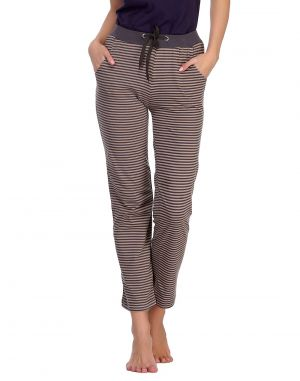 Buy Clovia Comfy Printed Pyjama With Contrast Waist Lb0017p24 online