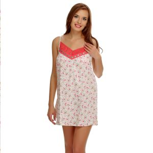 Buy Clovia Floral Cute Lacy Nightdress online