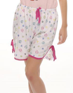 Buy Clovia Cute Lacy Shorts With Multicolour Prints Ns0417p22 online