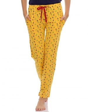 Buy Clovia Cotton Pyjama With Funky Prints Ns0432p02 online