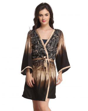 fa1d760968 Buy Clovia Classic Floral Printed Robe Online