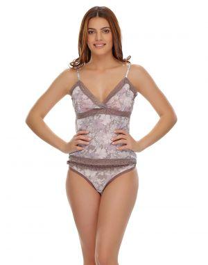 Buy Clovia Net Camisole & Brief Set Ns0518p01 online